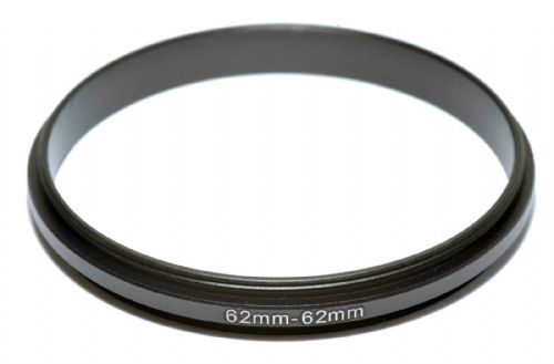 Coupling Ring Male-Male Thread 62-62mm Double Lens Reverse Macro Adapter